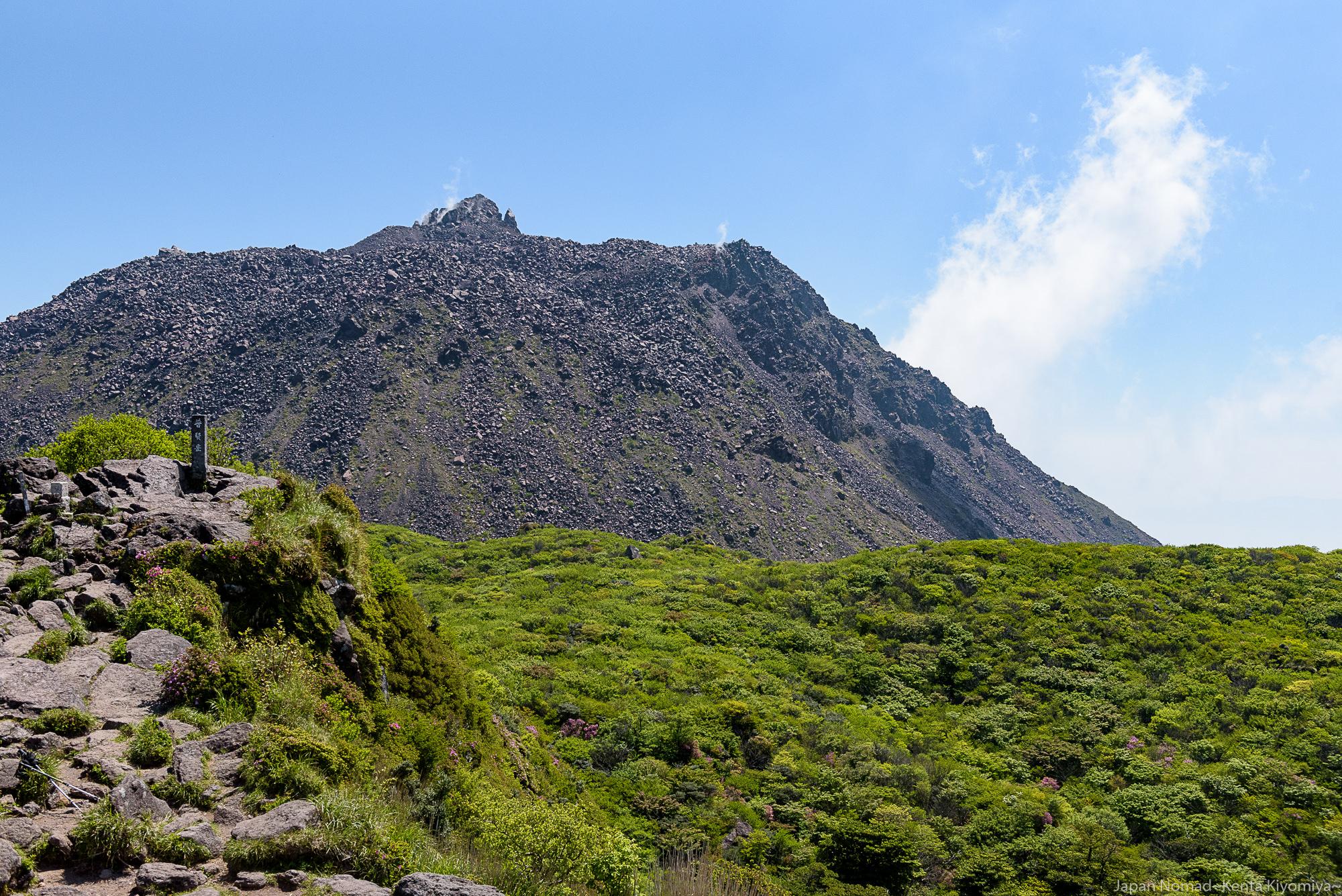【九州】雲仙岳 登山(夏山・日帰り)絶景のミヤマキリシマ、ピンクに染まる仁田峠
