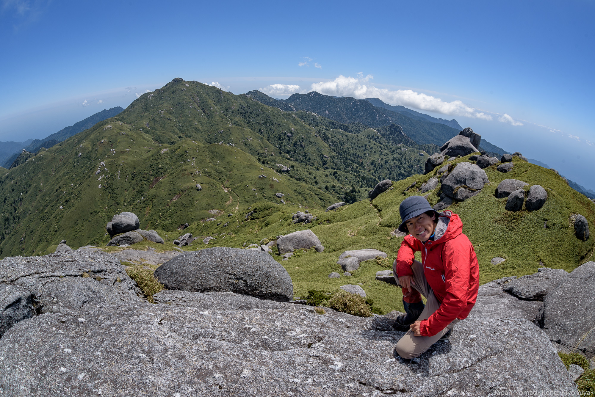 【屋久島】宮之浦岳 縦走(その2)~九州最高峰の絶頂へ~