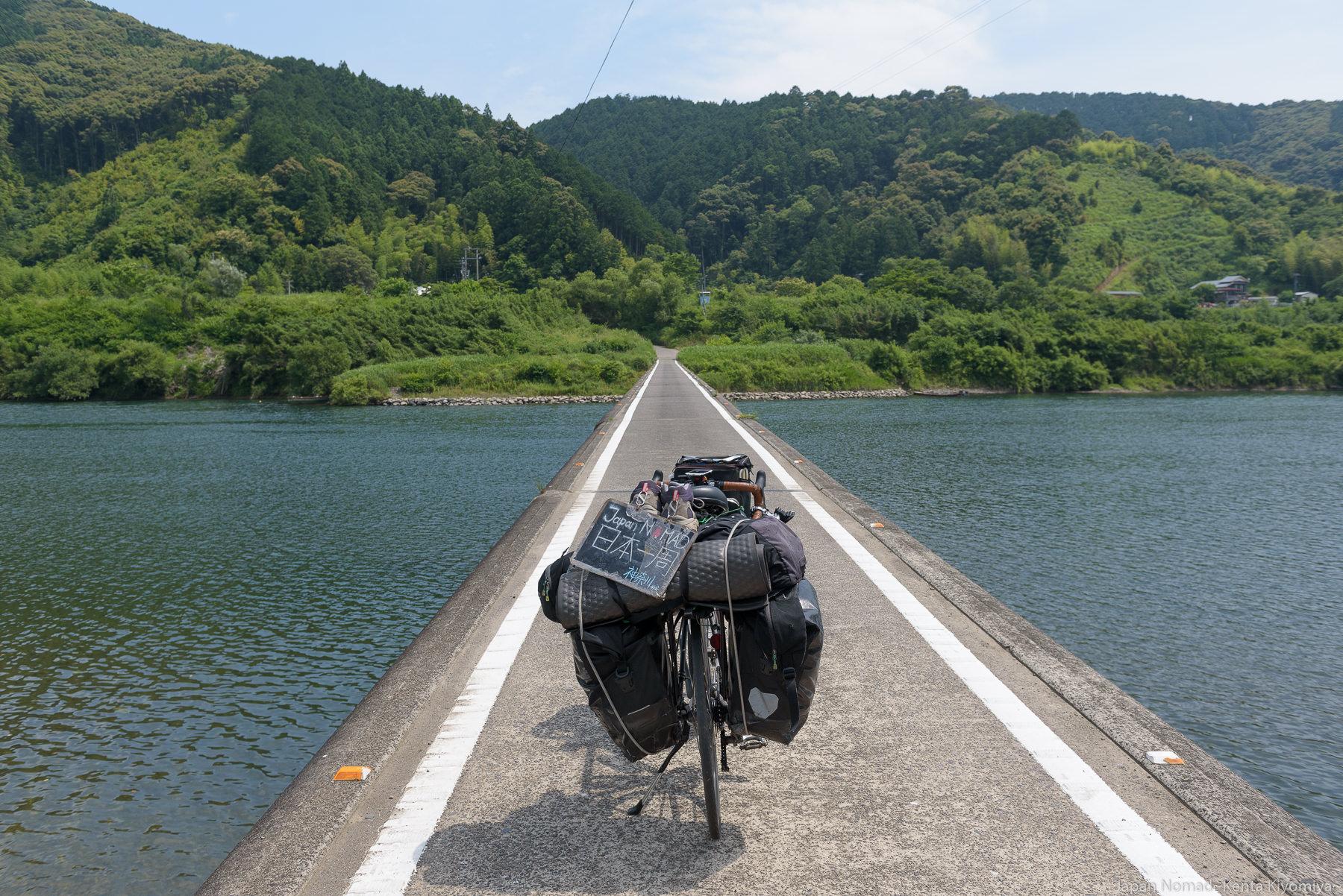 【旅253日目】高知の清流「四万十川」が思ったより大したことなかった件